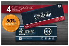 GIFT VOUCHER TEMPLATE  @creativework247