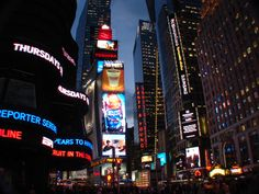 Times Square - New York City - Feb. 2011