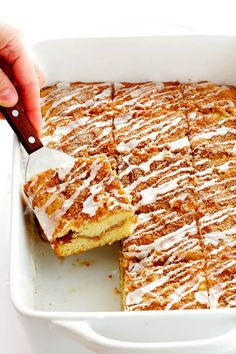 My Favorite Sour Cream Coffee Cake. My Favorite Sour Cream Coffee Cake-- This is my all-time favorite coffee cake. It's so moist and fluffy and totally irresistible! Baking Recipes, Cake Recipes, Dessert Recipes, Funnel Cakes, Food Cakes, Cupcake Cakes, Cupcakes, Brunch Recipes, Sweet Recipes