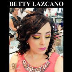 maquillaje y peinado Betty Lazcano Citas. 667.716.43.25 y 667.712.59.74