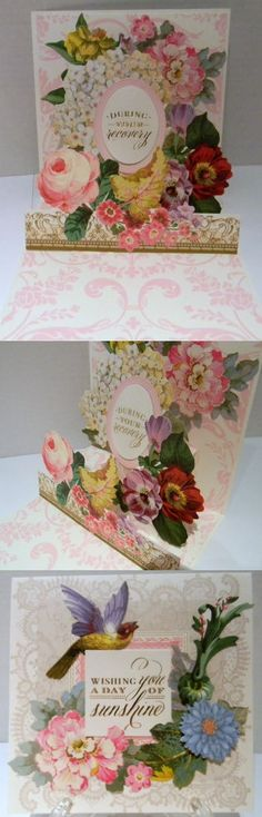 Anna Griffin pop-up card