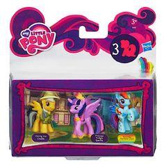 My Little Pony Mini's 3 Pack: Daring Do Dazzle, Princess Twilight Sparkle & Rainbowfied Rainbow Dash - Daring Pony Story:Amazon.co.uk:Toys & Games