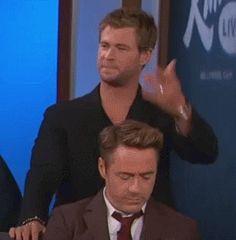Chris Hemsworth * Robert Downey Jr