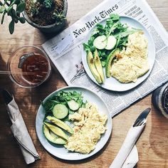 Scrambled eggs + avo with a side of the best coffee in town. On mornings when I…