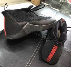 New Images Of The Air Jordan 15 Stealth That Drops Next Year
