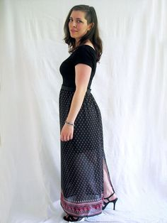 A Maxi To Wear To A Wedding