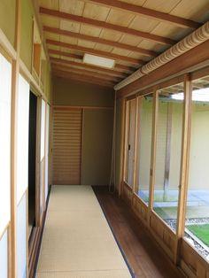 Traditional Japanese Hallway