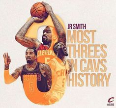 JR SMITH...My favorite player on the Cavs..SWISH
