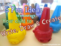 Early Literacy Ideas. 5 Easy and Fun ways to encourage your Preschooler