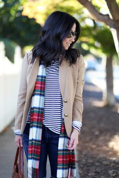 Plaid and stripes || Crystalin Marie
