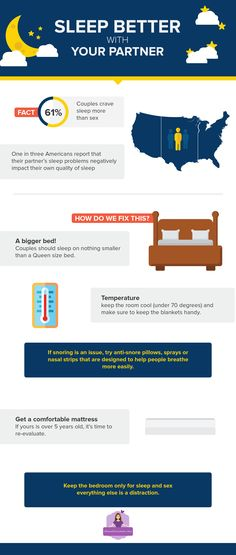 5 Ways to Sleep Better with Your Partner - The Mattress Mom