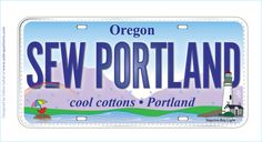 row by row quilt license plates for california - Bing Images