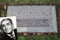 Jim Backus February 25 1913 - July 3 Backus was the voice of Mr Magoo and also played Thurston Howell III on Gilligan 's Island. He died of complications of pneumonia and Parkinson's disease at the age of Cemetery Headstones, Old Cemeteries, Cemetery Art, Graveyards, Famous Tombstones, Famous Graves, All In The Family, History Facts, Old Hollywood