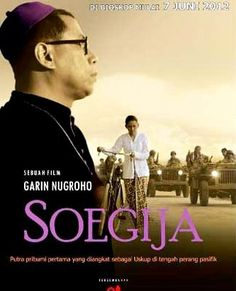 Soegija (2013) Historic film shows in a special way - special for both countries - the violent divorce between the colonial Netherlands and the new and militant Indonesia. Besides Bishop Soegija, the film follows young Indonesians and Dutch. About love and war. Nominated for The Big Screen Award. (Garin Nugroho, 2012, Indonesia, 120 min) @International Film Festival Rotterdam