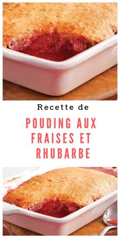 No Bake Desserts, Easy Desserts, Rhubarb Dump Cakes, Just Cakes, Sweet Tarts, Pie Dessert, Baking Recipes, Free Recipes, Desert Recipes
