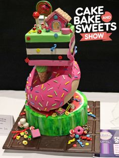 Australian Cake Decorating Championships is the worlds richest cake competition showcasing cake and sugarcraft masterpieces from Australia's leading artists Cake Competition, Rich Cake, Occasion Cakes, No Bake Cake, Cake Decorating, Special Occasion, Birthday Cake, Sweets, Baking