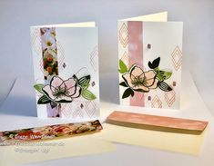 Petal Promenade Designer Series Paper from Stampin' Up! Flower Stamp, Flower Cards, Thanks Card, Stampin Up Catalog, Pretty Cards, Color Card, Stamping Up, Creative Cards, Greeting Cards Handmade