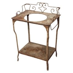 Gorgeous antique wash stand. $1,200.