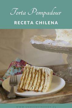 Torta Pompadour, Pastry Cake, Vanilla Cake, Tea Time, Cupcake Cakes, Banana, Bread, Sweet, Desserts