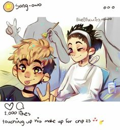 ★Yoon Bum || Sangwoo★Killing Stalking☆
