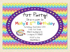 Create Own Party Invitation Wording Designs