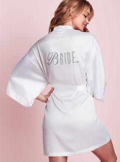 Victoria's Secret White Bride Robe off retail Wedding Boudoir, Wedding Lingerie, Honeymoon Lingerie, Victoria's Secret, Wedding Night, Dream Wedding, Wedding Ideas, Wedding Stuff, Wedding Pins