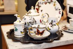 Fancy a cuppa? Brighten up your afternoon tea with beautiful and intricate tea sets from Christian Lacroix. Shop the range now http://www.liberty.co.uk/fcp/categorylist/designer/christian-lacroix