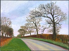 David Hockney: The East Yorkshire Landscape, paintings, Warter Vista
