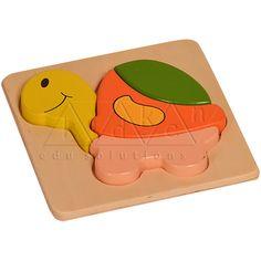 Buy High Quality Tortoise Puzzle @ Rs.210 at kidkenmontessori.com