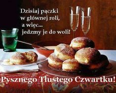 Polish Breakfast, Weekend Humor, Good Sentences, French Toast, Muffin, Food, Poland, Thursday, Nails