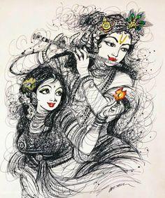 Krishna Janmashtami Wishes, Images, Qoutes, And Messeges Lord Krishna Images, Radha Krishna Pictures, Radha Krishna Photo, Krishna Photos, Krishna Art, Radha Krishna Paintings, Radha Krishna Sketch, Shree Krishna, Krishna Tattoo