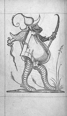 François Desprez,  f. A4 v° Dessin 2  Les Songes drolatiques de Pantagruel  A Paris : Par Richard Breton 1565 (28)