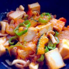 さっぱりしたのが食べたかったから(^^) - 7件のもぐもぐ - 野菜たっぷり厚揚げの酢豚 by takeko616
