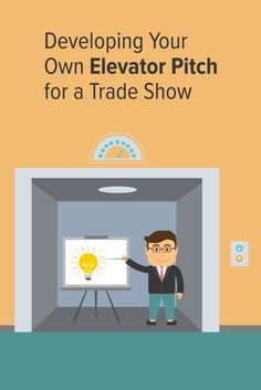 Creating an elevator pitch could give you enough time to keep your product on an attendee's mind. #blog