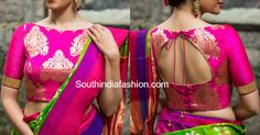 brocade saree blouse designs photo