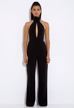 Richie Black Halterneck Jumpsuit £120~ The Dark Side..  :)