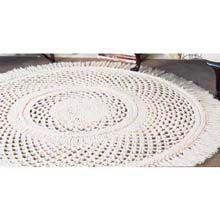 Picot Area Rug Crochet Kit