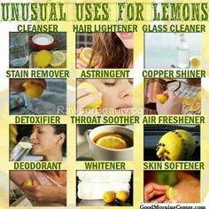 Lemons are wonderful!