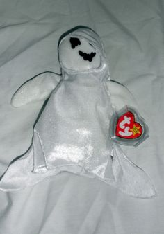 8111db64d39 Original Ty Beanie Baby Sheets the Ghost NWT - Retired Beanie Buddies