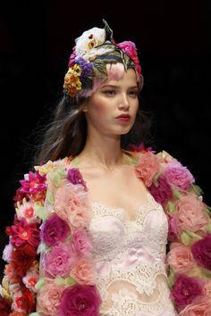 "voguesurvenus: ""  Dolce & Gabbana Ready-to-Wear Fall 2016 """