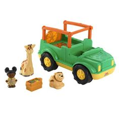 Little People toys from Fisher Price never fail to captivate little ones hearts and imaginations. Little People toys and playsets inhabit a sweet world filled with wonderful adventures and great friends to make along the way!