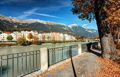 Der Blick Richtung Mariahilf vom Marktplatz. Innsbruck, All Pictures, Austria, Germany, Deck, Fall, Outdoor Decor, Pictures, Getting Older