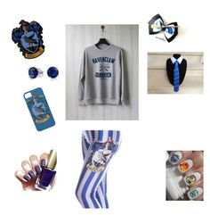 """Ravenclaw!"" by serena-rupp ❤ liked on Polyvore featuring Bling Jewelry"