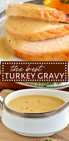 This really is the BEST Turkey Gravy recipe around! Silky smooth and perfectly rich, this amazing gravy recipe has glowing reviews.There's nothing better than topping creamy mashed potatoes with the most amazing turkey gravy and this recipe delivers - every single time. // Mom On Timeout #turkeygravy #gravyrecipe #gravy #recipe #turkey #thanksgiving #Christmas #easy Turkey Gravy From Drippings, Best Turkey Gravy, Making Turkey Gravy, Roasted Turkey Gravy Recipe, Recipe For Gravy, Mashed Potato Gravy Recipe, Perfect Gravy Recipe, Homemade Turkey Gravy, Best Turkey Recipe