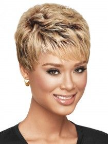 Textured Pixie Synthetic Wig