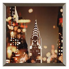 NYC City Lights | Series | Art | Z Gallerie