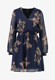 Zalando Floral Tops, Dresses With Sleeves, Blouse, Long Sleeve, Women, Fashion, Gowns, Moda, Top Flowers