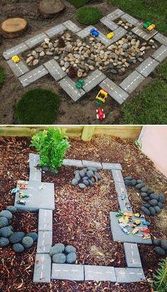 Diy outdoor toys, backyard playground и backyard for kids. Kids Outdoor Play, Outdoor Play Spaces, Kids Play Area, Backyard For Kids, Backyard Projects, Garden Projects, Projects For Kids, Diy For Kids, Garden Ideas