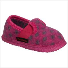 c40319ab172079 Modern Polka Dots - Fresh colors for cloudy days! Colorful and modern  slippers with sassy polka dot pattern. www.lalapatoot.com