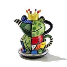 romero britto #teapot